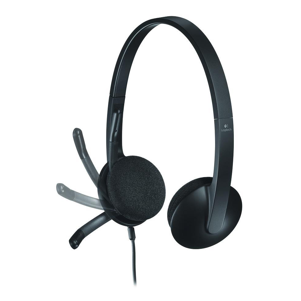 Logitech H340 Headset USB Lightweight with Noise-cancelling Microphone Ref 981-000475