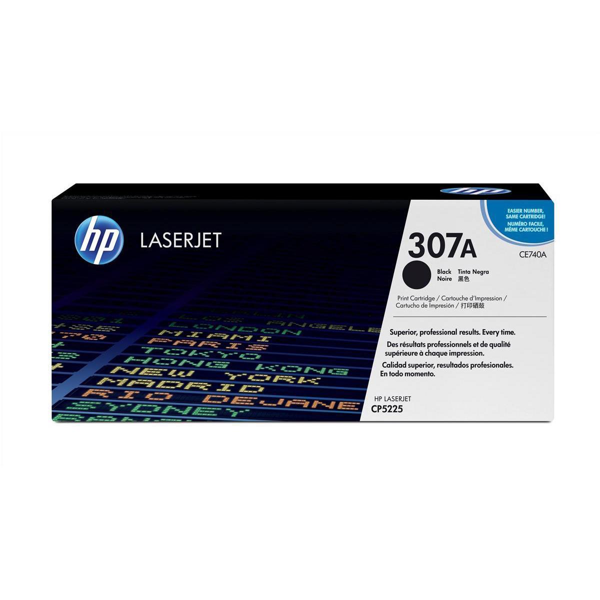 Hewlett Packard [HP] No. 307A Laser Toner Cartridge Page Life 7000pp Black Ref CE740A