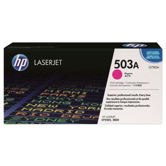 HP 503A Laser Toner Cartridge Page Life 6000pp Magenta Ref Q7583A