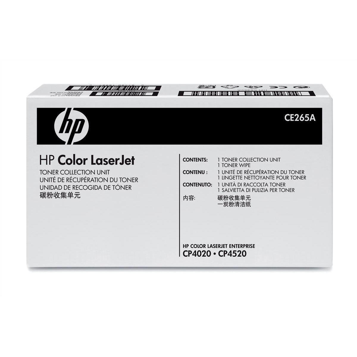 Waste Toners & Collectors HP Color LaserJet Toner Collection Unit Page Life 36000pp Ref CE265A