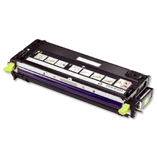 Dell No. H515C Laser Toner Cartridge High Capacity Page Life 9000pp Yellow Ref 593-10291