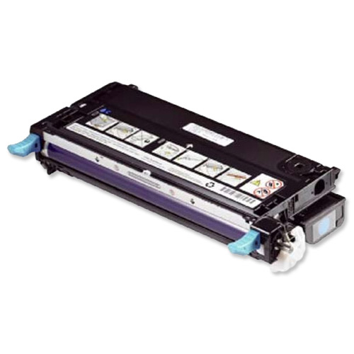 Dell No. H513C Laser Toner Cartridge High Capacity Page Life 9000pp Cyan Ref 593-10290