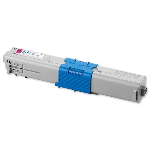 OKI Laser Toner Cartridge Page Life 2000pp Magenta Ref 44469705