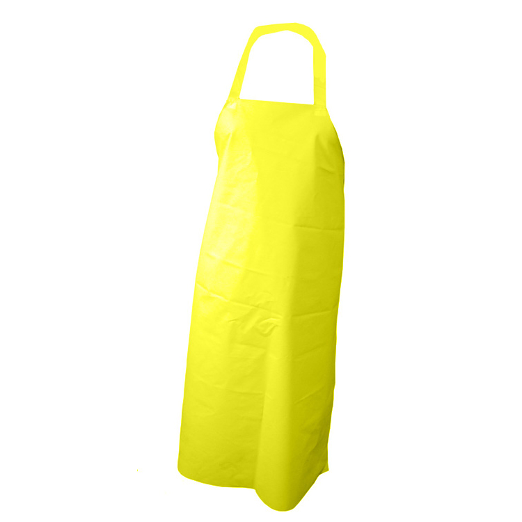 Click Workwear Nyplax Apron 10 Pack Yellow 48inch X 36inch*Up to 3 Day Leadtime*