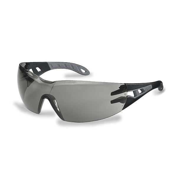 Safety glasses Uvex Pheos Safety Spec Grey Ref 9192-285 Pack 5 *Up to 3 Day Leadtime*