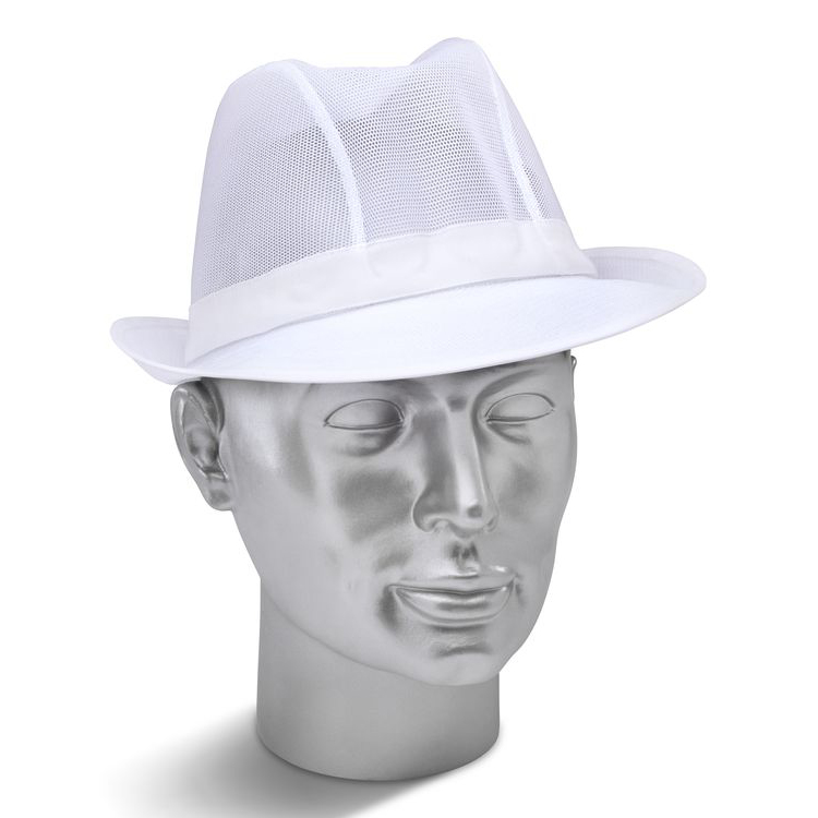 Click Workwear Trilby Hat Small White Ref TWS *Up to 3 Day Leadtime*