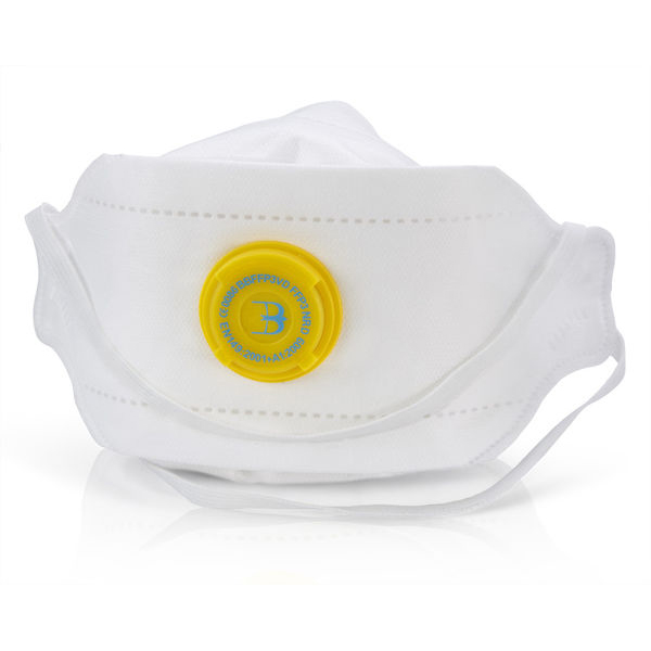 BBrand Premium Fold Flat P3 Vented Mask*Up to 3 Day Leadtime*