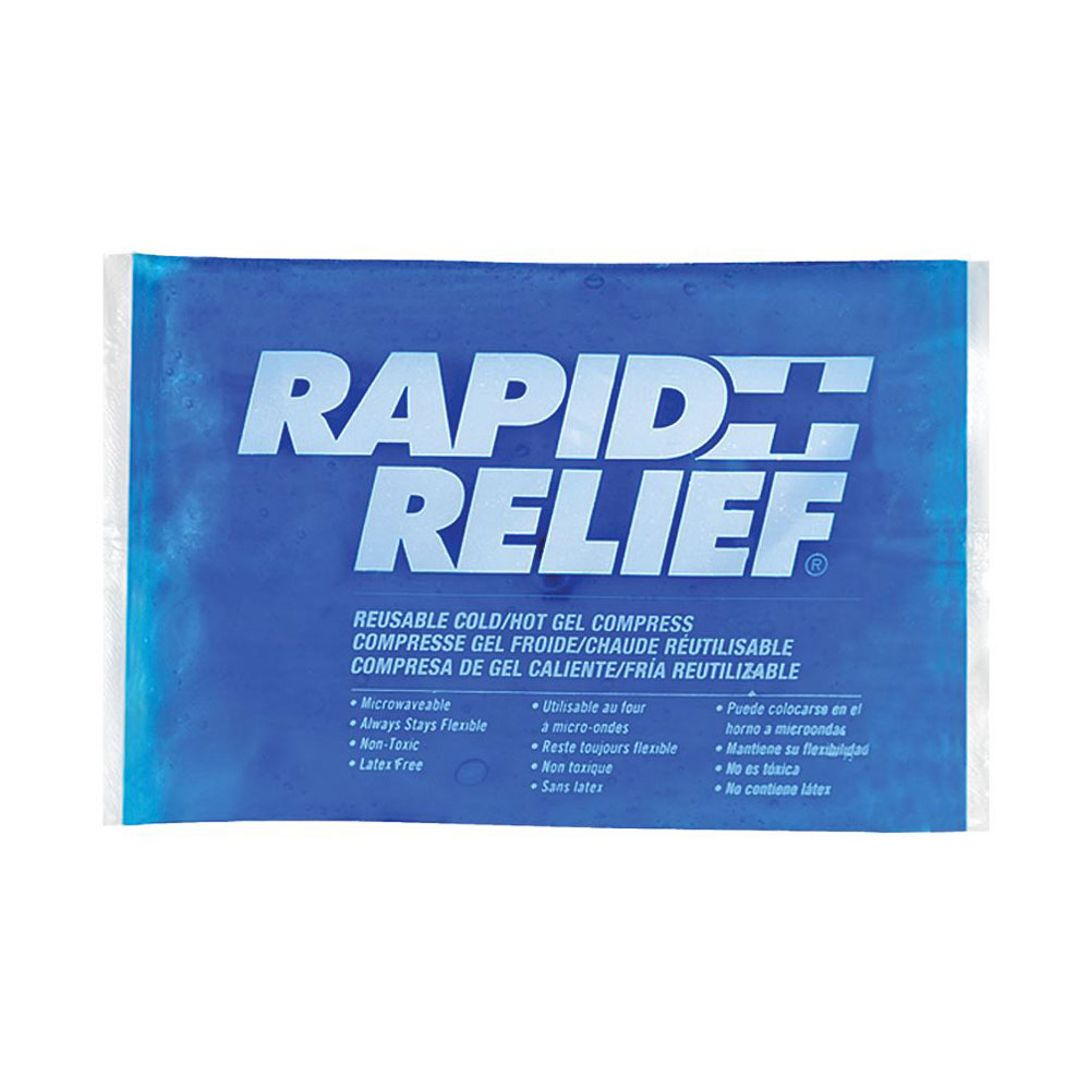 Limitless Rapid Relief Reusable Hot/Cold Gel Compress C/W Contour Gel 4in x 6in Ref RA12246 *Up to 3 Day Leadtime*