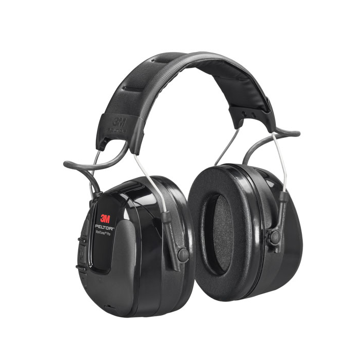 3M Peltor Worktunes Pro Am/Fm Radio Headset Black Ref HRXS221A Up to 3 Day Leadtime
