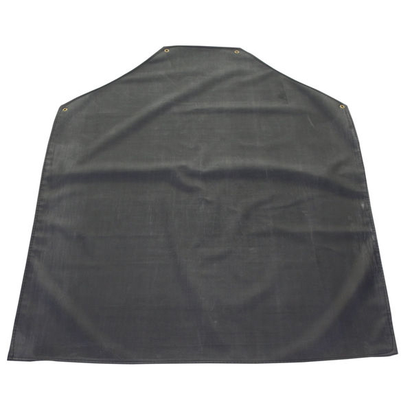 Click Workwear Black Rubber Apron 42inchX 36inch*Up to 3 Day Leadtime*