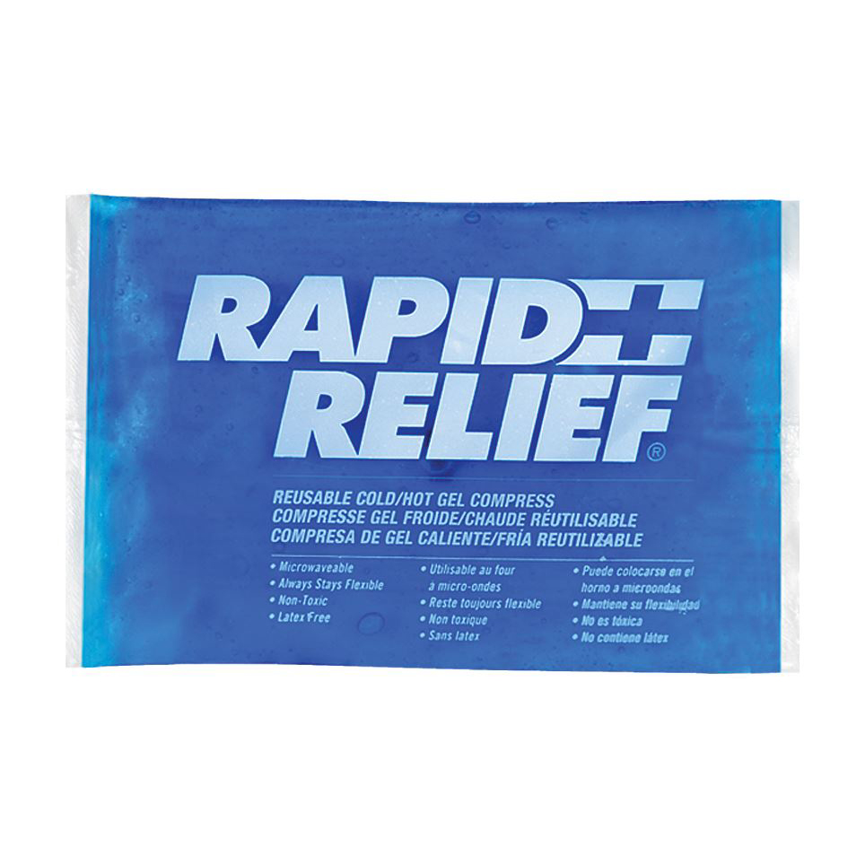 Limitless Rapid Relief Reusable Hot/Cold Gel Compress C/W Contour Gel 5in x 9in Ref RA12259 *Up to 3 Day Leadtime*