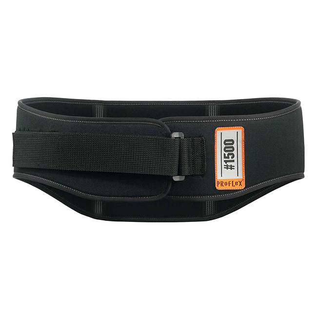 Ergodyne 1500 Back Support Belt 2XL Black Ref EY1500BSXXL *Up to 3 Day Leadtime*