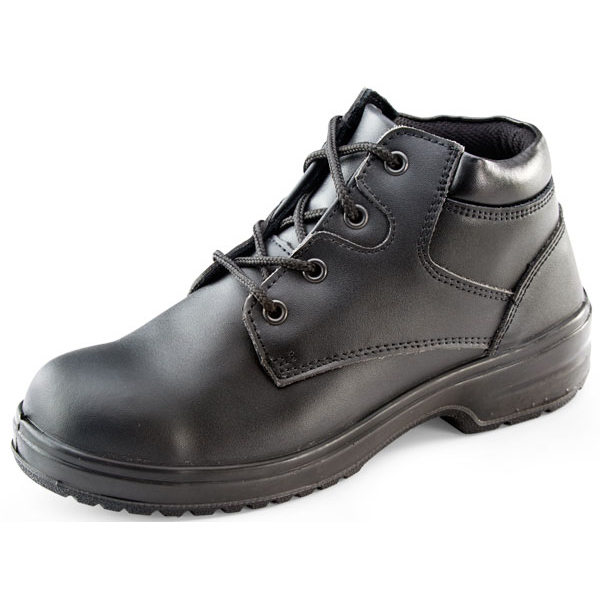 Limitless Click Footwear Ladies Chukka Boot PU/Leather Size 40/06.5 Black Ref CF14BL06.5 *Up to 3 Day Leadtime*