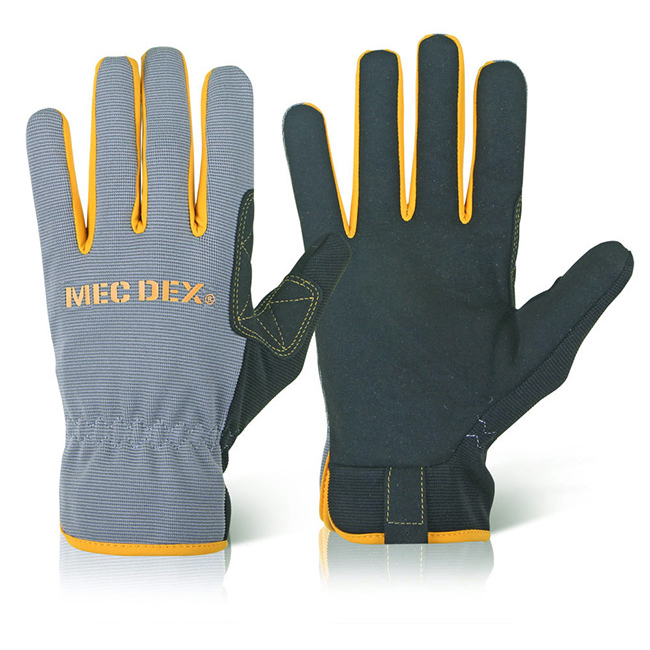 Hand Protection Mecdex Work Passion Mechanics Glove L Ref MECDY-711L *Up to 3 Day Leadtime*