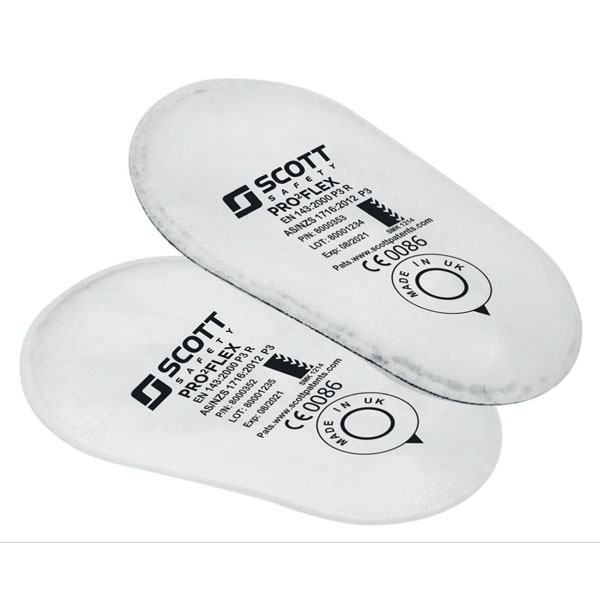 Scott Pro2 Flex P3 Filter Lightweight Low Profile White Ref 8005173 Up to 3 Day Leadtime