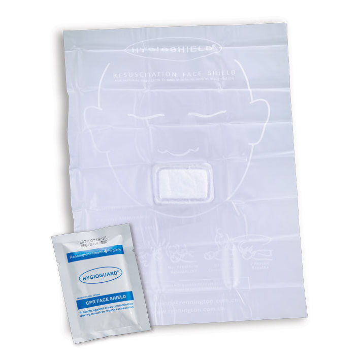 Image for Click Medical Face Shield with Hydrophobic Filter Compact Size White Ref CM0472 Up to 3 Day Leadtime
