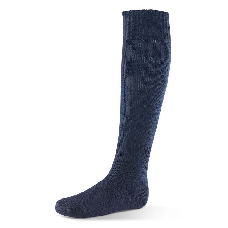 Click Workwear Sea Boot Socks Wool/Nylon Size 11 Navy Blue Ref SBSN11 *Up to 3 Day Leadtime*