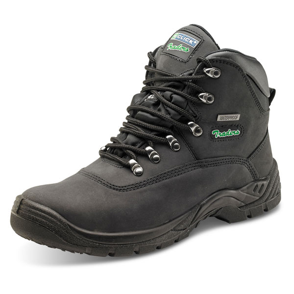 Click Traders S3 Thinsulate Boot PU/Leather/TPU Nubuck Size 10 Black Ref CTF24BL10 *Up to 3 Day Leadtime*
