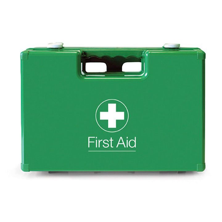 Click Medical 624B First Aid Box ABS Green Ref CM1022 *Up to 3 Day Leadtime*