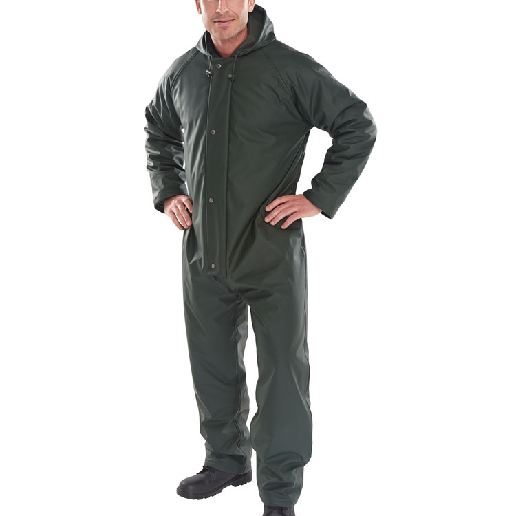 B-Dri Weatherproof Super B-Dri Padded Coverall Olive Green Xxxl*Up to 3 Day Leadtime*