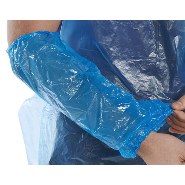 Limitless Click Once Disposable Oversleeve 14inch Blue Ref DO14B2 Pack 2000 *Up to 3 Day Leadtime*