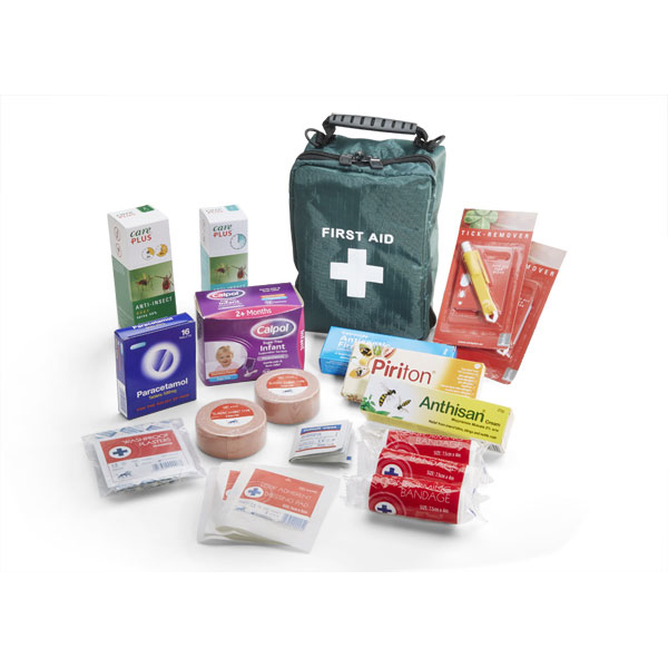 Click Medical Travel First Aid Kit Insect Repellent Ref CM0145 *Up to 3 Day Leadtime*