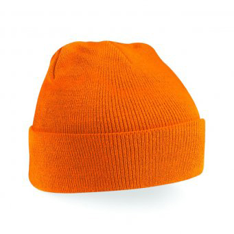 Hats Click Workwear Winter Hat Orange Ref WHOR *Up to 3 Day Leadtime*