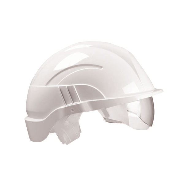 Limitless Centurion Vision Plus Safety Helmet Integrated Visor White Ref CNS10PLUSEWA *Up to 3 Day Leadtime*