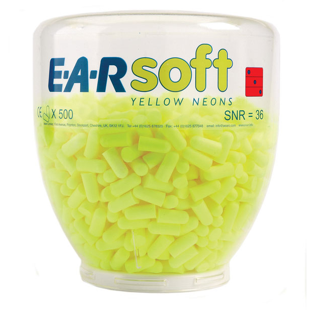 Limitless Earsoft Neons Ear Plugs Ref EARSNRB Pack 500 *Up to 3 Day Leadtime*