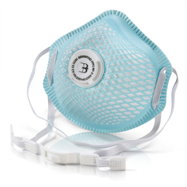 BBrand P2 Vented Mesh Cup Mask*Up to 3 Day Leadtime*
