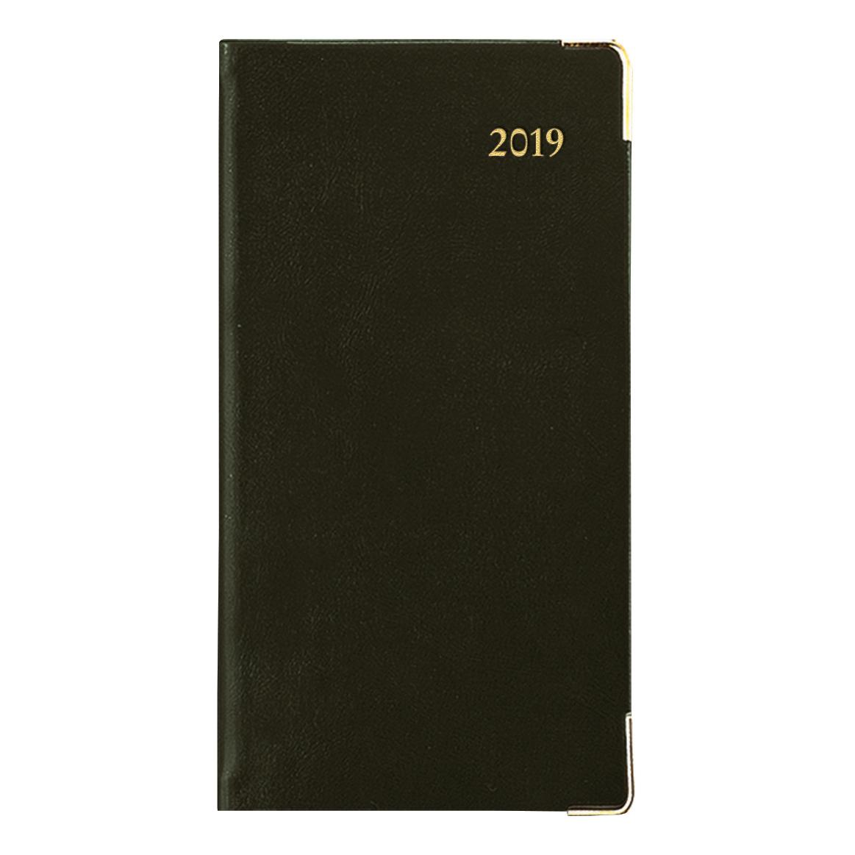 Collins 2019 Classic Pocket Diary Week to View Sewn Binding 80x152mm Black Ref CAPV 2019