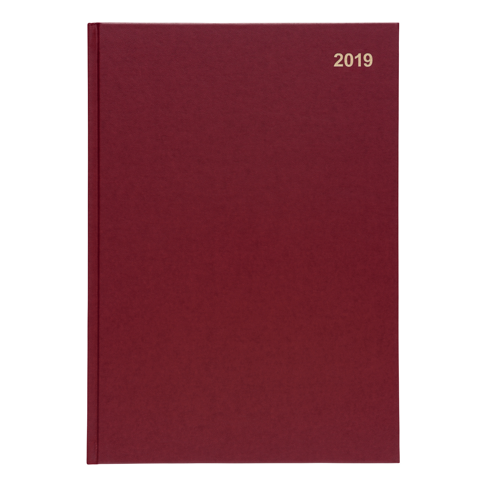 5 Star 2019 A4 Day to Page Diary Red