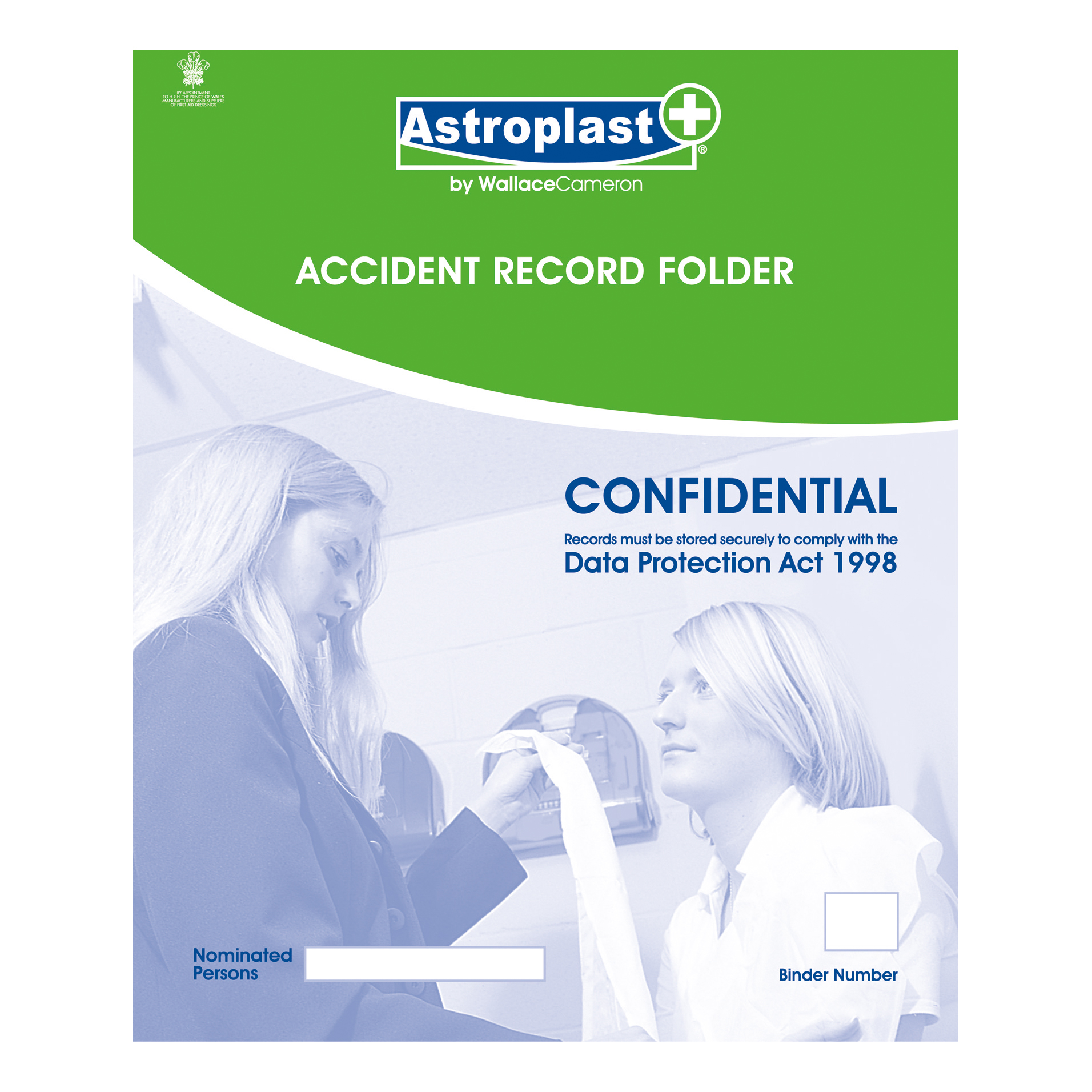 Image for Astroplast Accident Report Folder A4 Ref 5401010