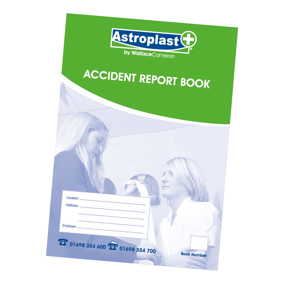 Astroplast Accident Report Book A4 Ref 5401011