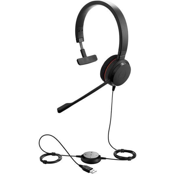 Jabra Evolve 20 Mono Headset Ref 52646