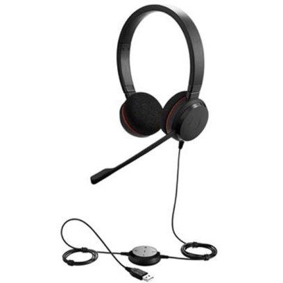 Jabra Evolve Duo Headset Ref 52647