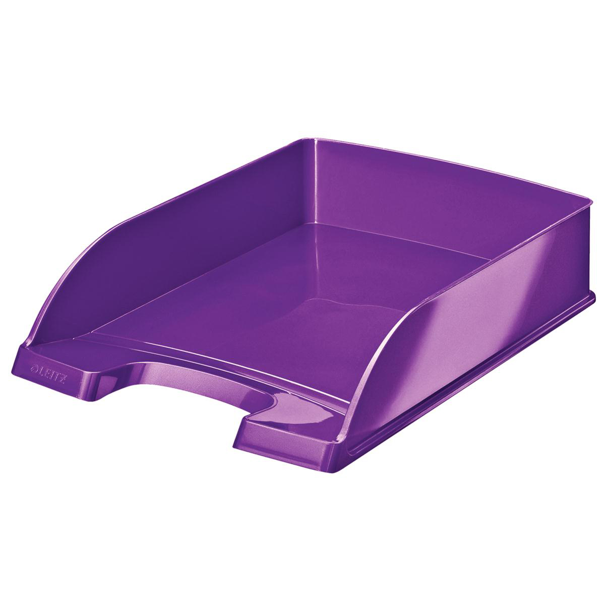 Letter Trays Leitz WOW Letter Tray Purple Ref 52260062