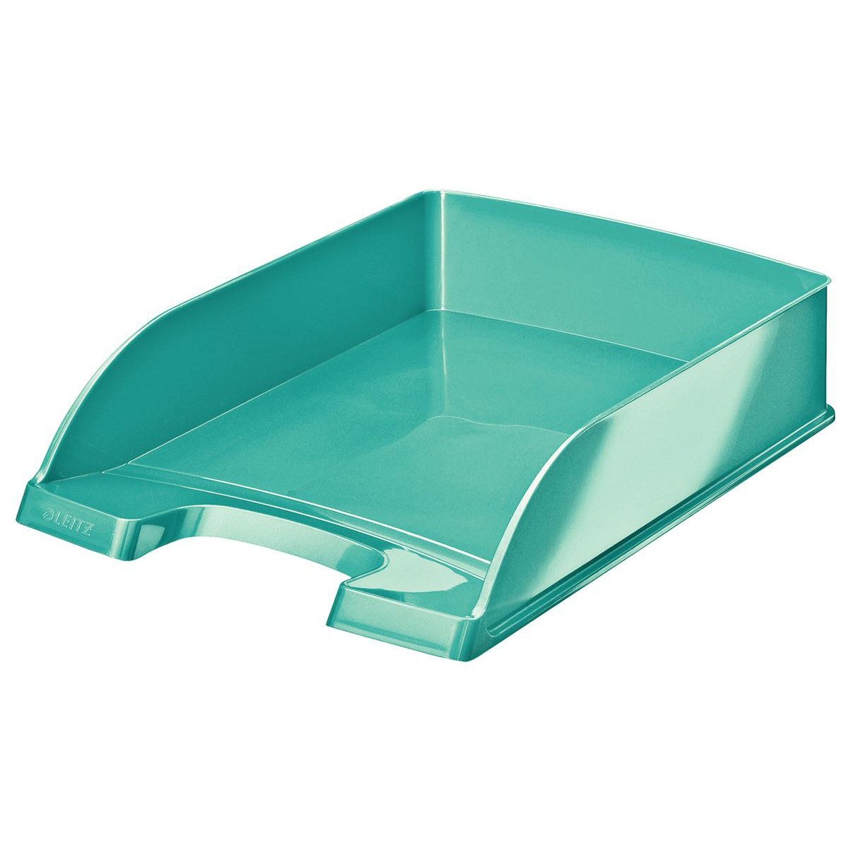 Letter Trays Leitz WOW Letter Tray Ice Blue Ref 52260051