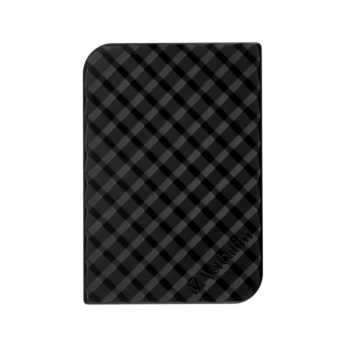 Verbatim Portable Hard Drive 2TB Black Ref 53195