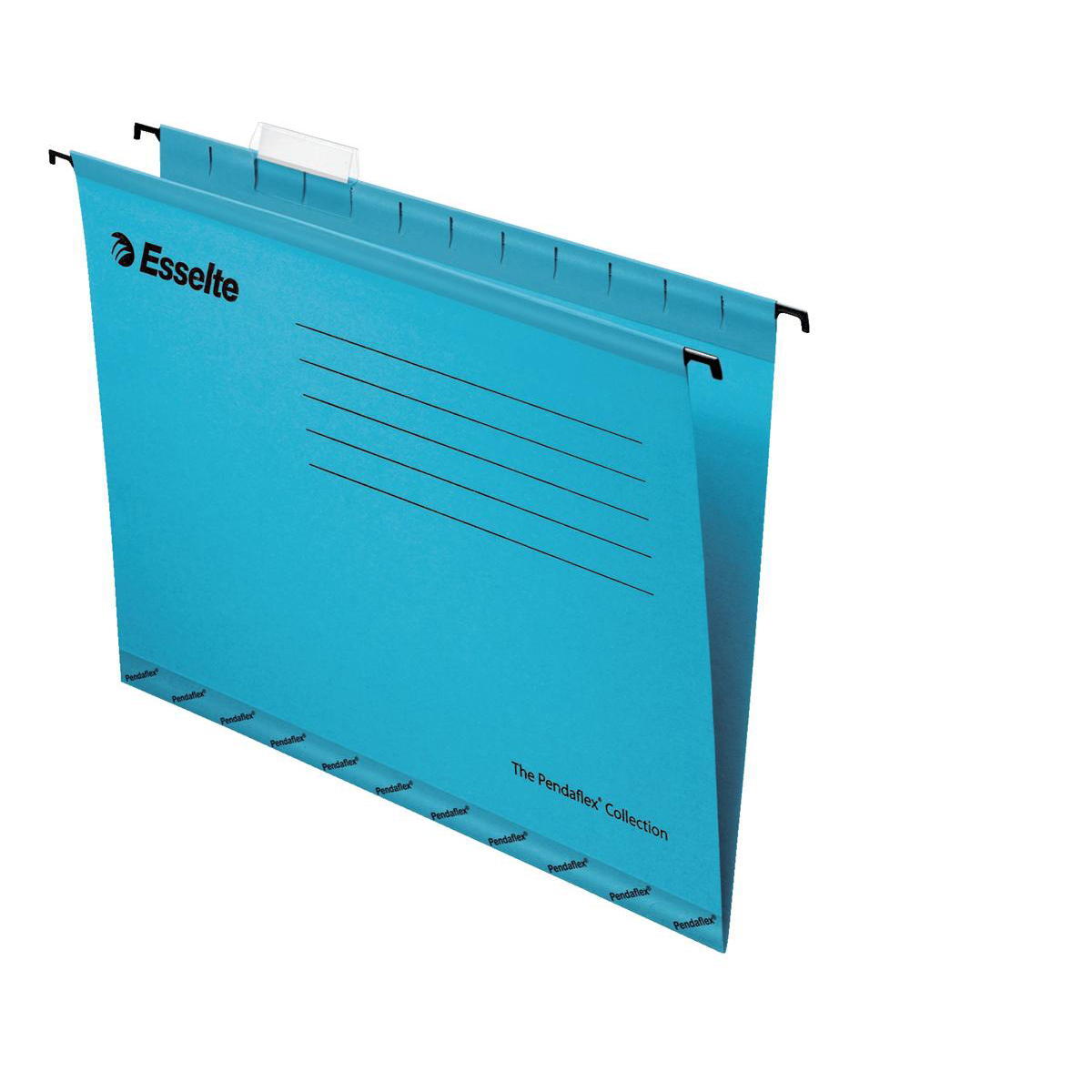 Esselte Classic Reinforced Suspension File Manilla 15mm V-base 210gsm Foolscap Blue Ref 90334 Pack 25