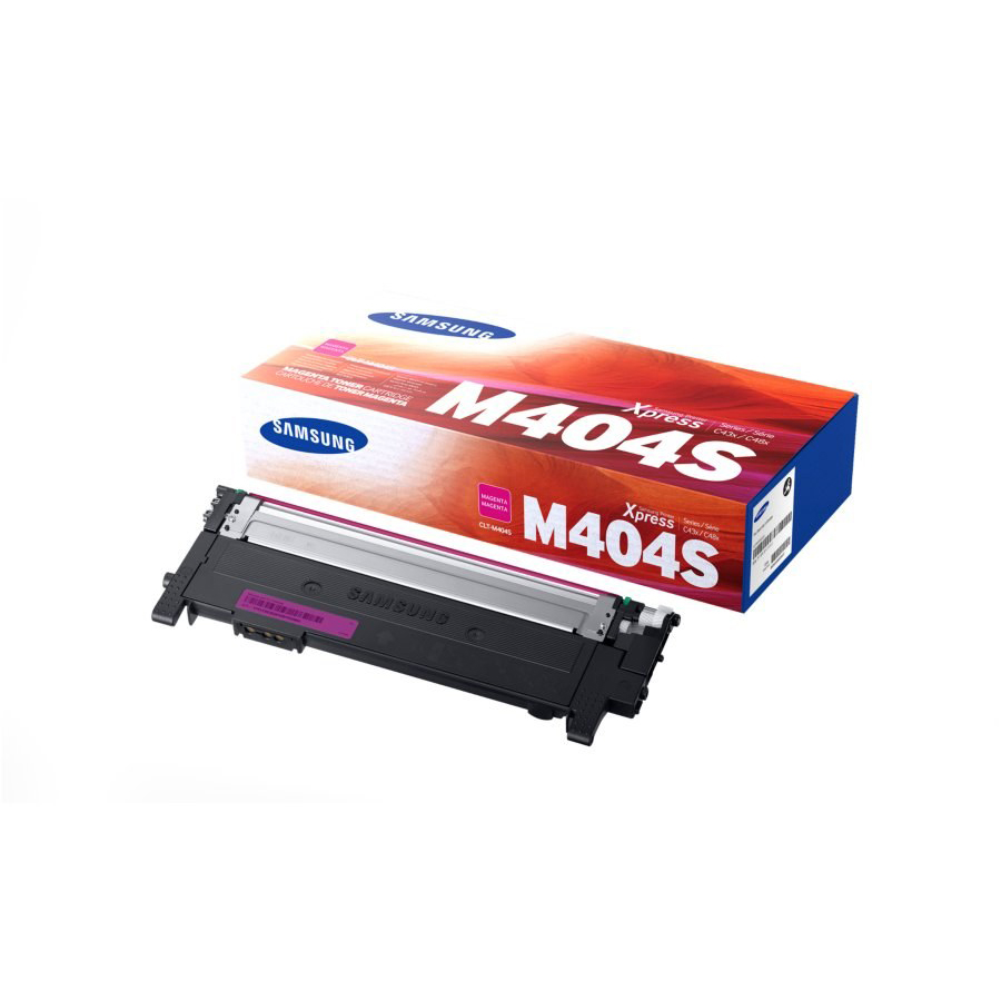 Samsung CLT-M404S Laser Toner Cartridge Page Life 1000pp Magenta Ref SU234A