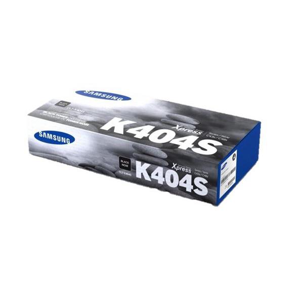 Samsung CLT-K404S Laser Toner Cartridge Page Life 1500pp Black Ref SU100A