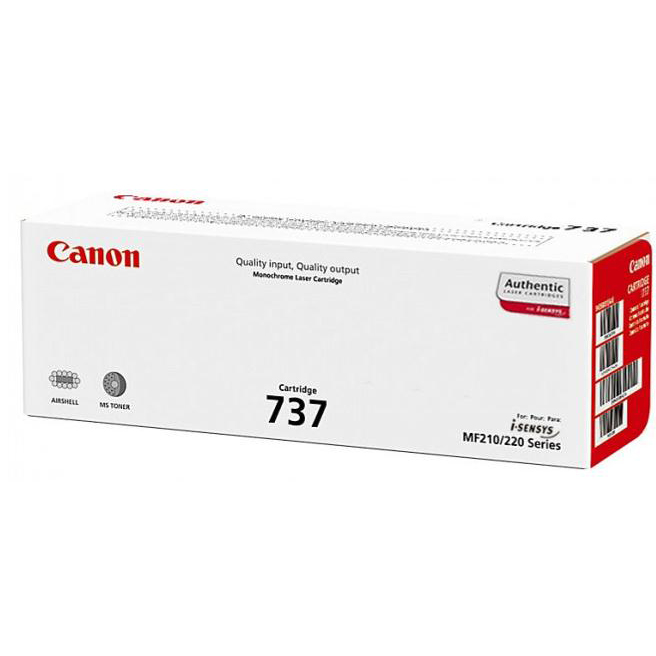 Canon 737 Laser Toner Cartridge Page Life 2400pp Black Ref 9435B002