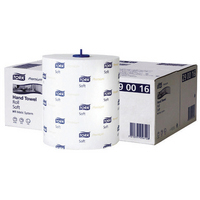 Tork Matic H1 Advanced Soft Hand Towel Roll 2 Ply 210mmx100m 408 Sheets per Roll Ref 290016 Pack 6