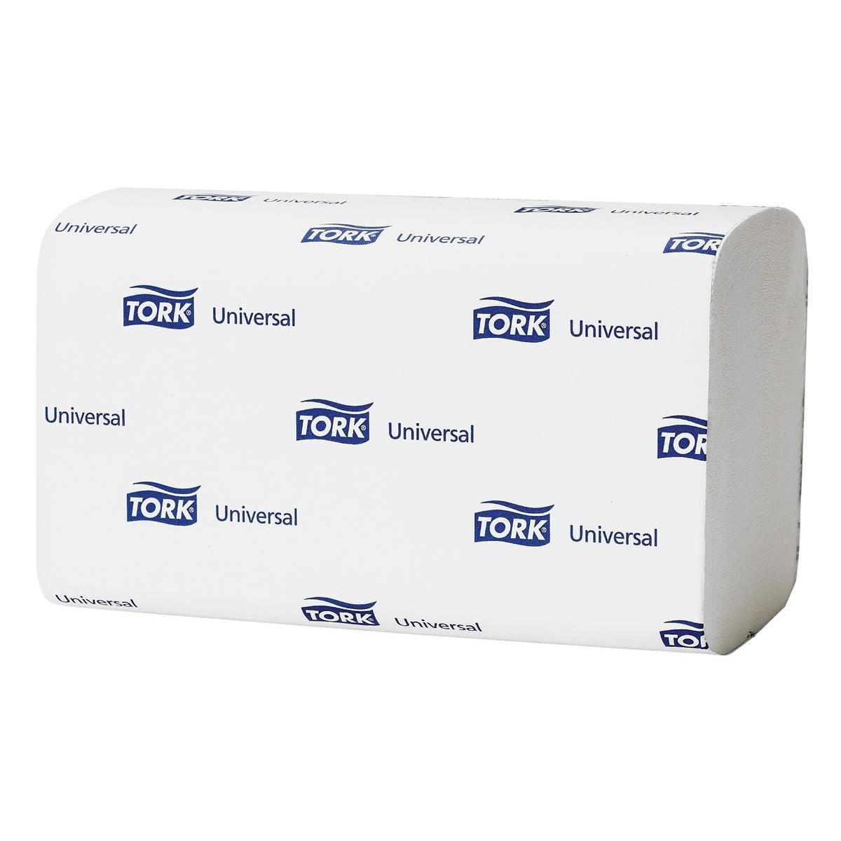 Tork Premium Hand Towel Leaf Embossed 2-Ply 200 Towels per Sleeve White Ref 100278 [Pack 15 Sleeves]