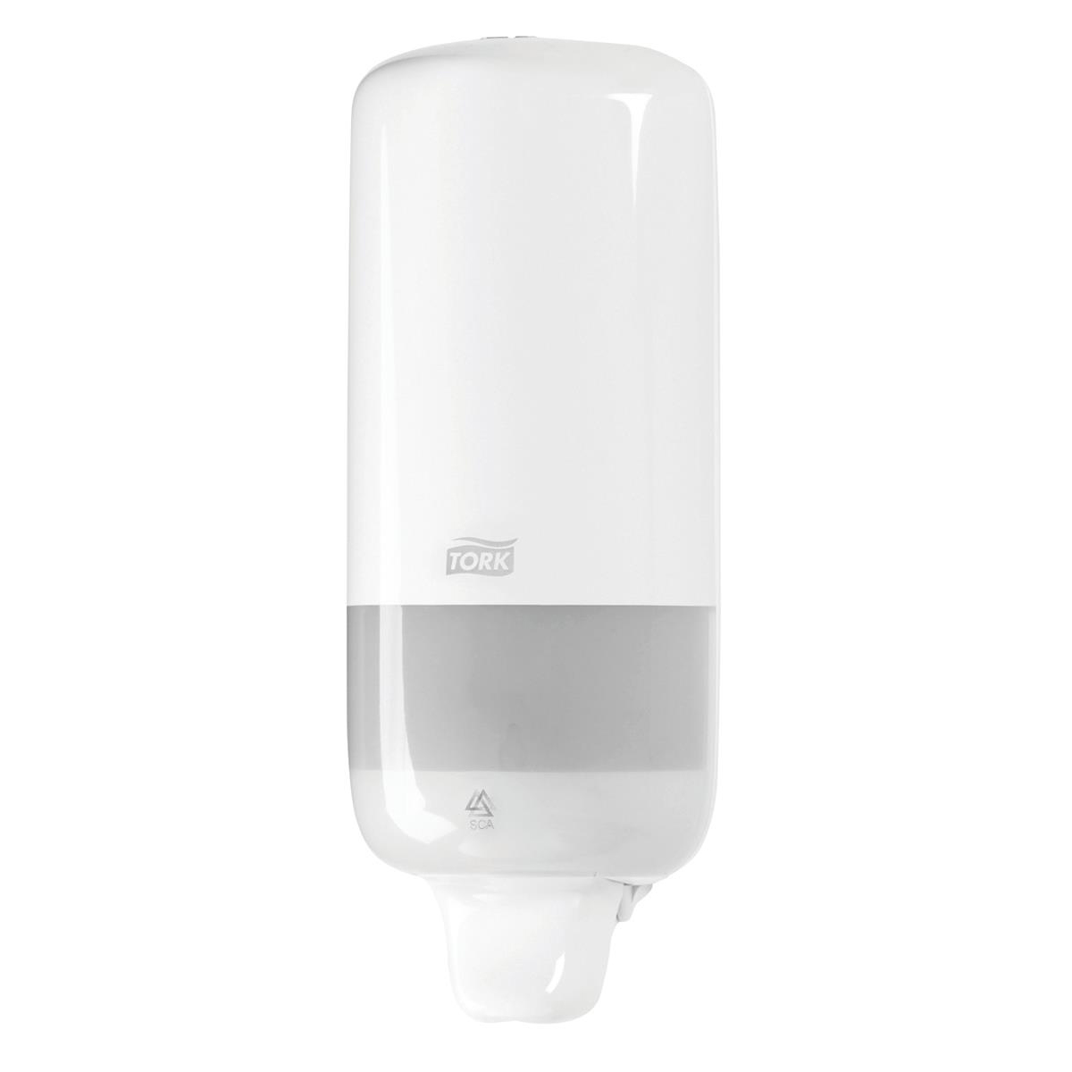 Hand Soaps & Dispensers Tork Liquid Soap Dispenser for 1000ml Refills Casing White Ref 560000