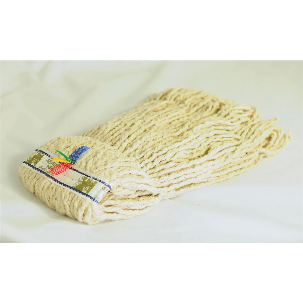 Mops & Buckets Kentucky Mop Head Multifold Hyienic with Assorted Removeable Tabs 16oz/450g
