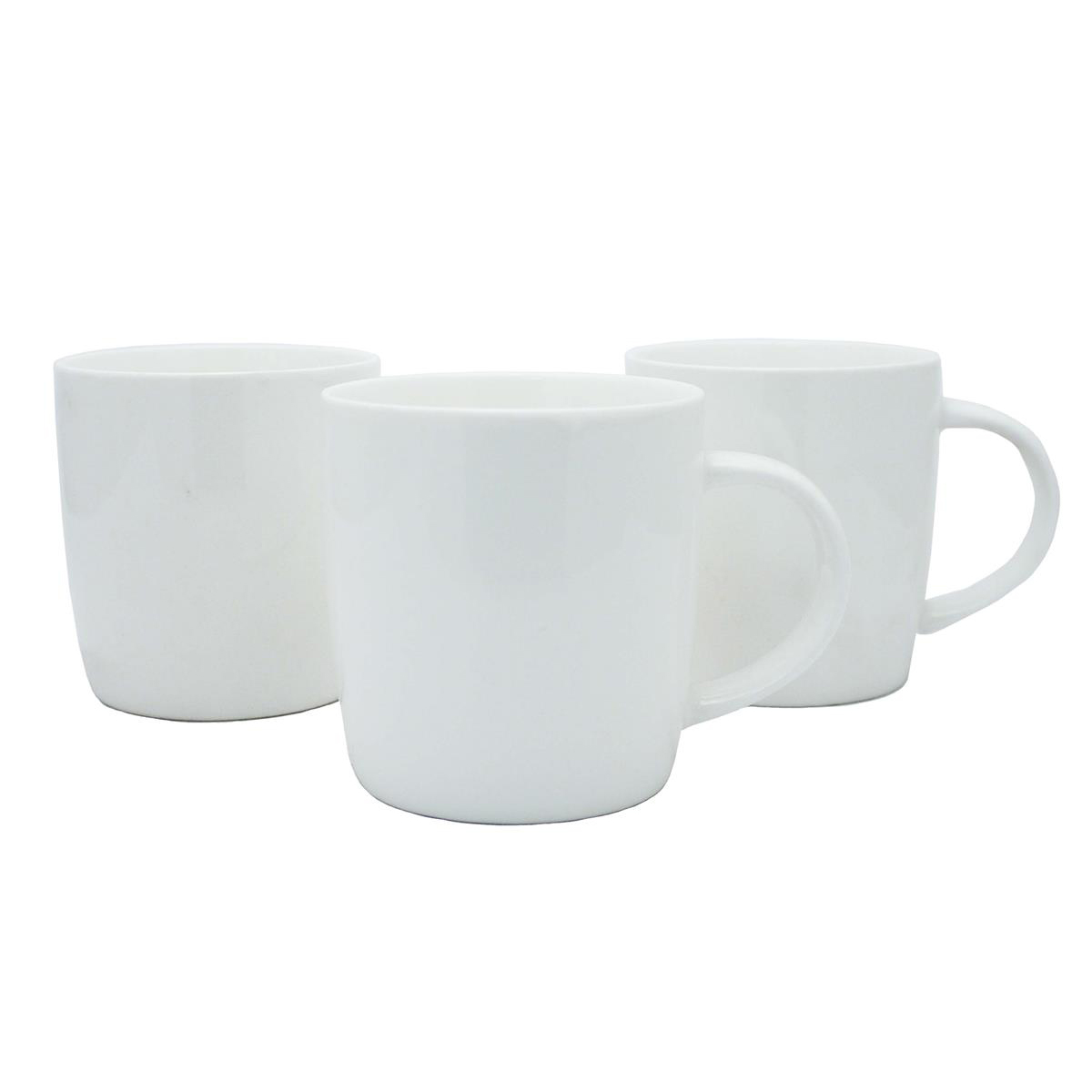 Earthenware Bullet Mugs 12oz White Ref 0399391 [Pack 12]