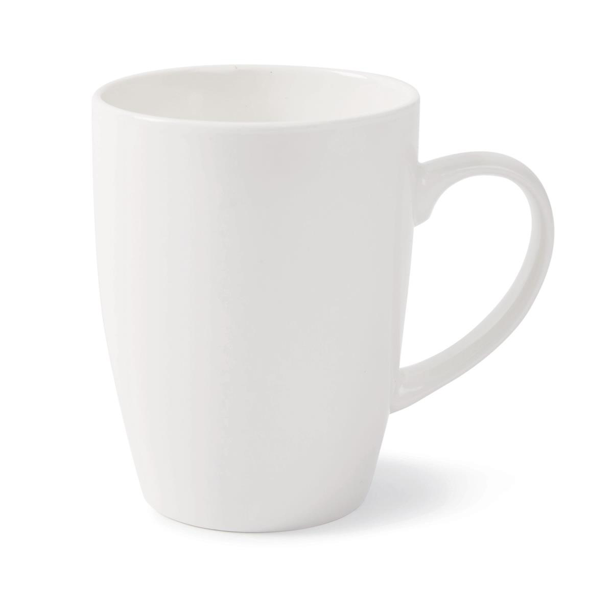 Earthenware Bullet Mugs 12oz White Ref 0399391 Pack 12