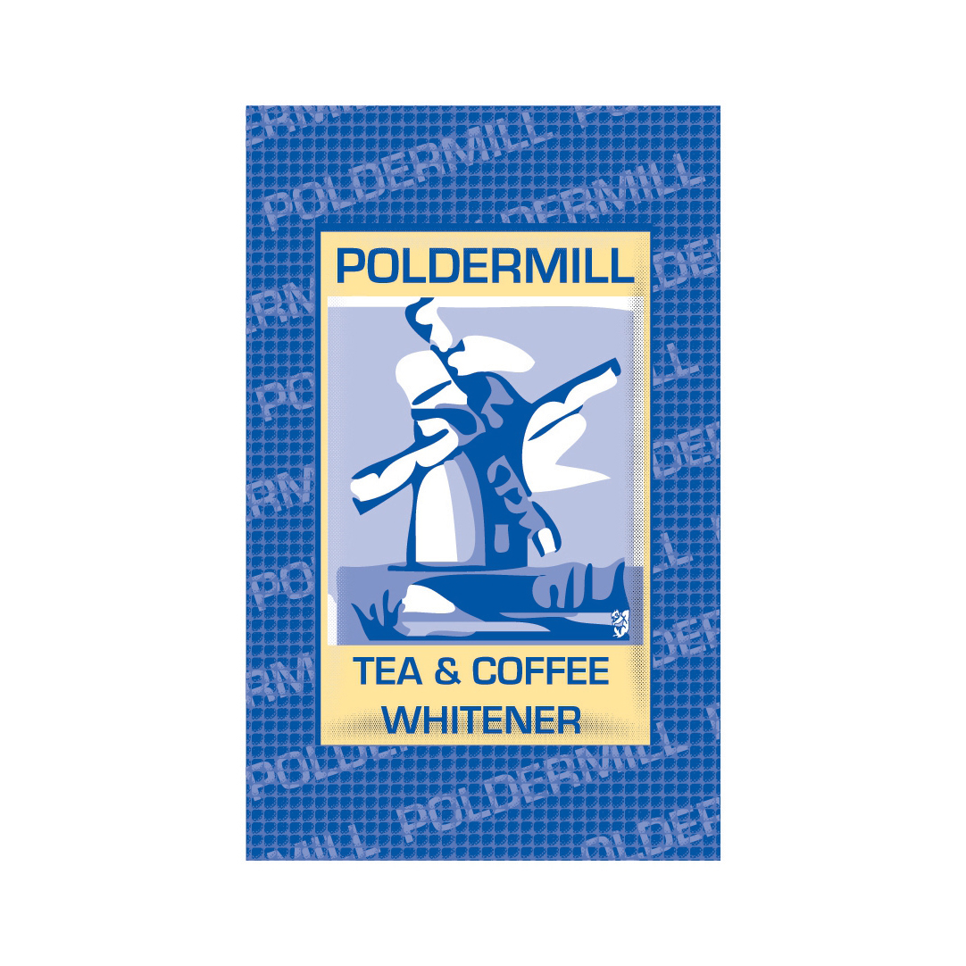 Poldermill Powdered Milk Whitener Sachets For Use With Tea and Coffee Bx1000 [Pack 1000]
